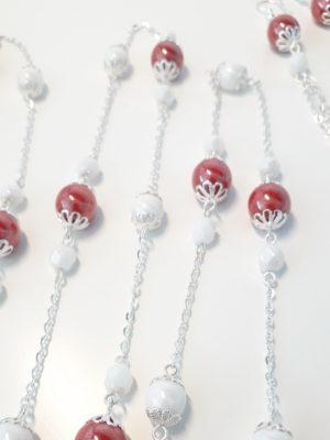řetěz červené a bílé2